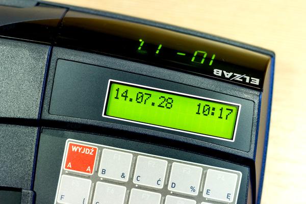 Kasa fiskalna Elzab Mini - 2 wbudowane, przejrzyste ekrany - nabywcy i użytkownika