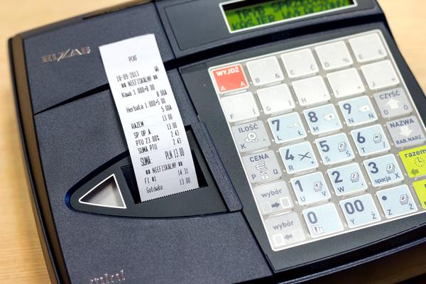 Kasa fiskalna Elzab Mini - Drukuje NIP klienta na paragonie