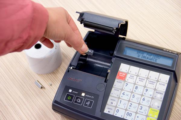 Kasa fiskalna Elzab Mini E - Przechowa kopie paragonów w formie elektronicznej